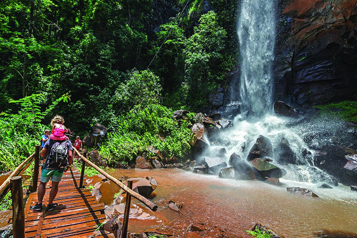 Cachoeira da Figueira - Brotas