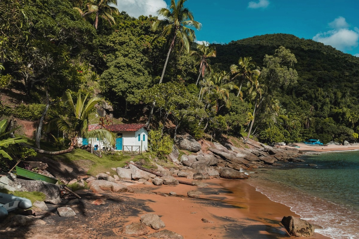 Praia da Figueira em Ilhabela
